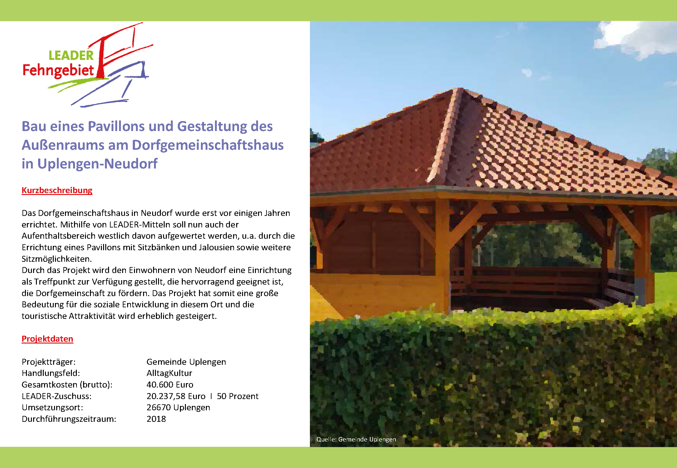 Dorfgemeinschaftshaus Uplengen-Neudorf